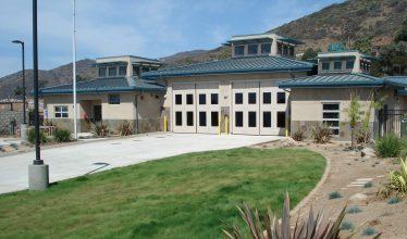 VENTURA COUNTY FIRE PROTECTION DISTRICT <br/> FIRE STATION #56 <br/> MALIBU, CALIFORNIA