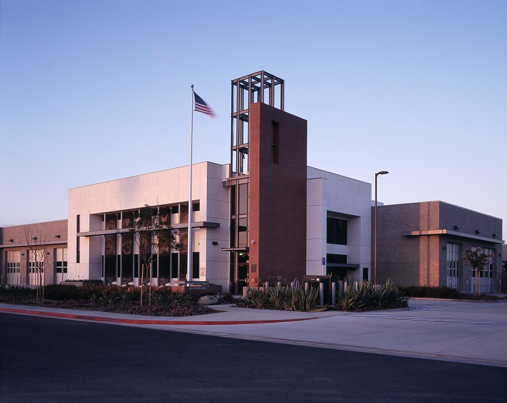 LOS ANGELES FIRE DEPARTMENT <br/> FIRE STATION #5 <br/> WESTCHESTER, CALIFORNIA
