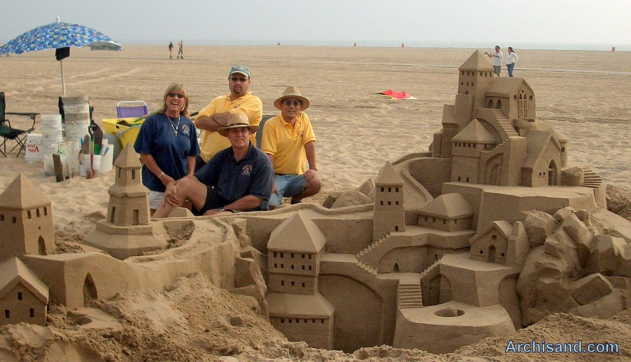 ARCH-I-SAND BEACH SAND CASTLE