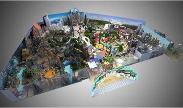 INDOOR THEME PARK –  MOSCOW, RUSSIA