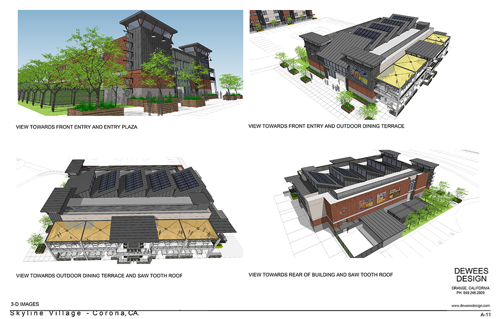 CORONA PROJECT-FOOD HALL-18-3D IMAGES