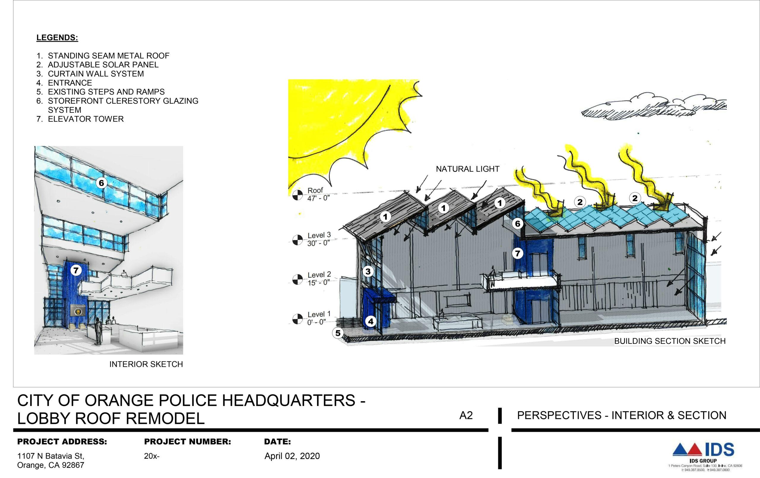 City of Orange Police Department-Headquarters Lobby Re-Design RFQ&P