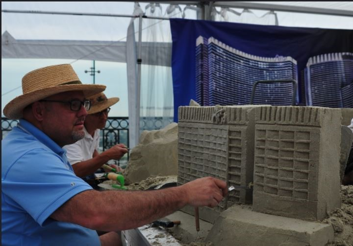 SCULPTING THE ARIA HOTEL FOR A